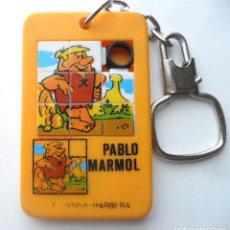Puzzles: LOS PICAPIEDRA PABLO MARMOL HANNA-BARBERA PUZZLE AÑOS 80 (6,5 X 4 CM). Lote 72887179