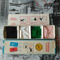 Puzzles: JUEGO MATCH PUZZLE AÑO 1968. Lote 73546009