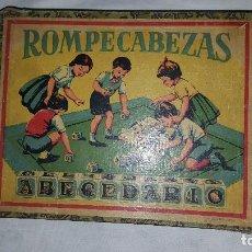 Puzzles: ROMPECABEZAS ABECEDARIO ANTIGUO. Lote 73578419