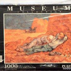 Puzzles: PUZLE MUSEUM COLLECTION CLEMENTONI 1000 PIEZAS LA SIESTA VAN GOGH NUEVO. Lote 75439859