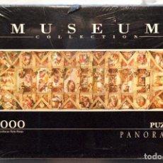 Puzzles: PUZLE MUSEUM COLLECTION CLEMENTONI 1000 PIEZAS LA CAPILLA SIXTINA MIGUEL ANGEL NUEVO. Lote 75439915