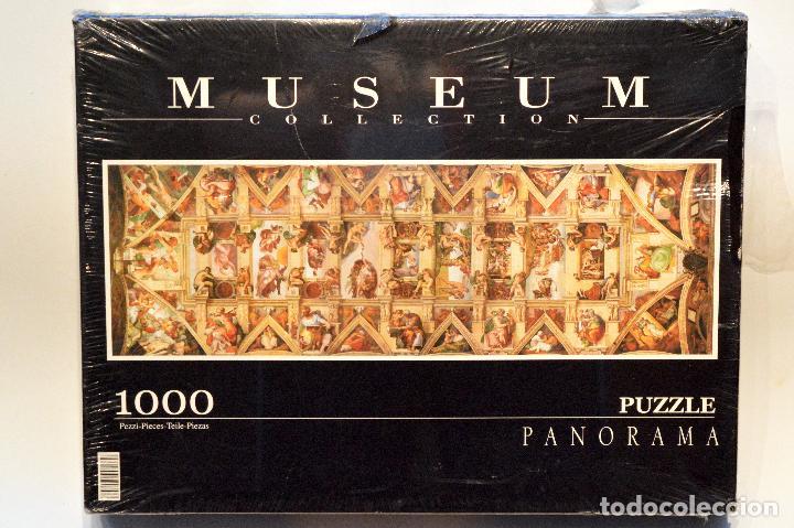 Puzzles: PUZLE MUSEUM COLLECTION CLEMENTONI 1000 PIEZAS LA CAPILLA SIXTINA MIGUEL ANGEL NUEVO - Foto 2 - 75439915