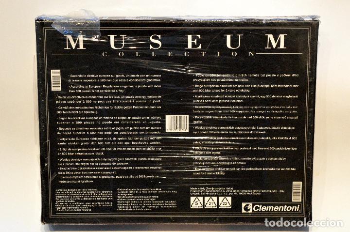 Puzzles: PUZLE MUSEUM COLLECTION CLEMENTONI 1000 PIEZAS LA CAPILLA SIXTINA MIGUEL ANGEL NUEVO - Foto 3 - 75439915
