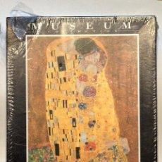 Puzzles: PUZLE MUSEUM COLLECTION CLEMENTONI 1000 PIEZAS EL BESO GUSTAV KLIMT NUEVO. Lote 75439959
