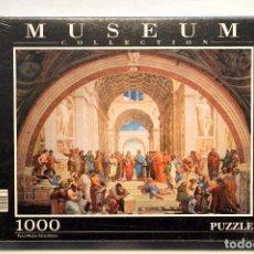 Puzzles: PUZLE MUSEUM COLLECTION CLEMENTONI 1000 PIEZAS LA ESCUELA DE ATENAS RAFAEL SANZIO NUEVO. Lote 75439971