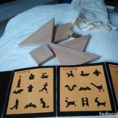 Puzzles: ROMPECABEZAS DE MADERA TANGRAM.. Lote 75775135