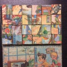 Puzzles: ROMPECABEZAS CUBOS AÑOS 20. Lote 75778771