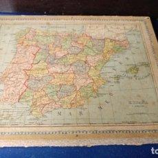 Puzzles: PUZZLES DE MAPAS DIDÁCTICOS CIRCA 1850. Lote 75835631