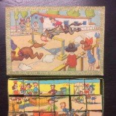 Puzzles: ROMPECABEZAS CUBOS AÑOS 20. Lote 76164519