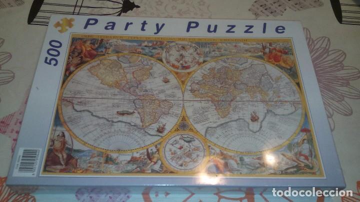 puzzle mapamundi antiguo 500 piezas  Comprar Puzzles antiguos en
