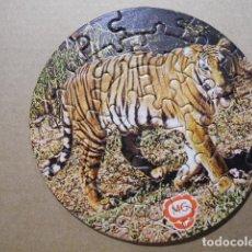 Puzzli: PUZLE TIGRE. QUESITOS MG 1975. NO ENCOLADO.. Lote 77102493