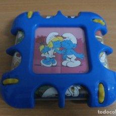 Puzzles: GRACIOSO PUZZLE ROMPECABEZAS LOS PITUFOS PEYO PUZLE GIRATORIO VER FOTOS. Lote 77103805