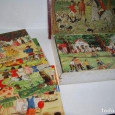 Puzzles: ROMPECABEZAS DE CARTÓN - AÑOS 40 - PUZZLE 35 CUBOS. Lote 78365317
