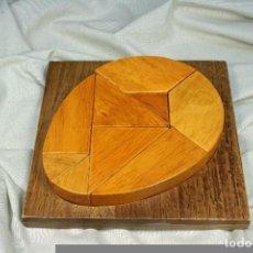Puzzles: PUZLE MADERA OVALADO. ROMPECABEZAS. JUEGO. S.XX. Lote 79780249