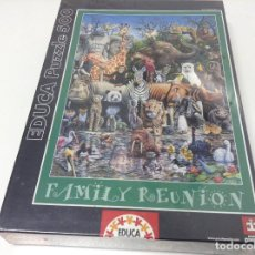 Puzzles: PUZZLE 500 PIEZAS FAMILY REUNION . EDUCA. Lote 80891183