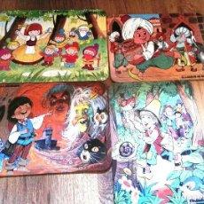 Puzzles: 4 ANTIGUOS CUENTOS PUZZLES. Lote 81737752