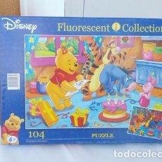 Puzzles: PUZZLE INFANTIL WINNIE THE POOH. Lote 82405260