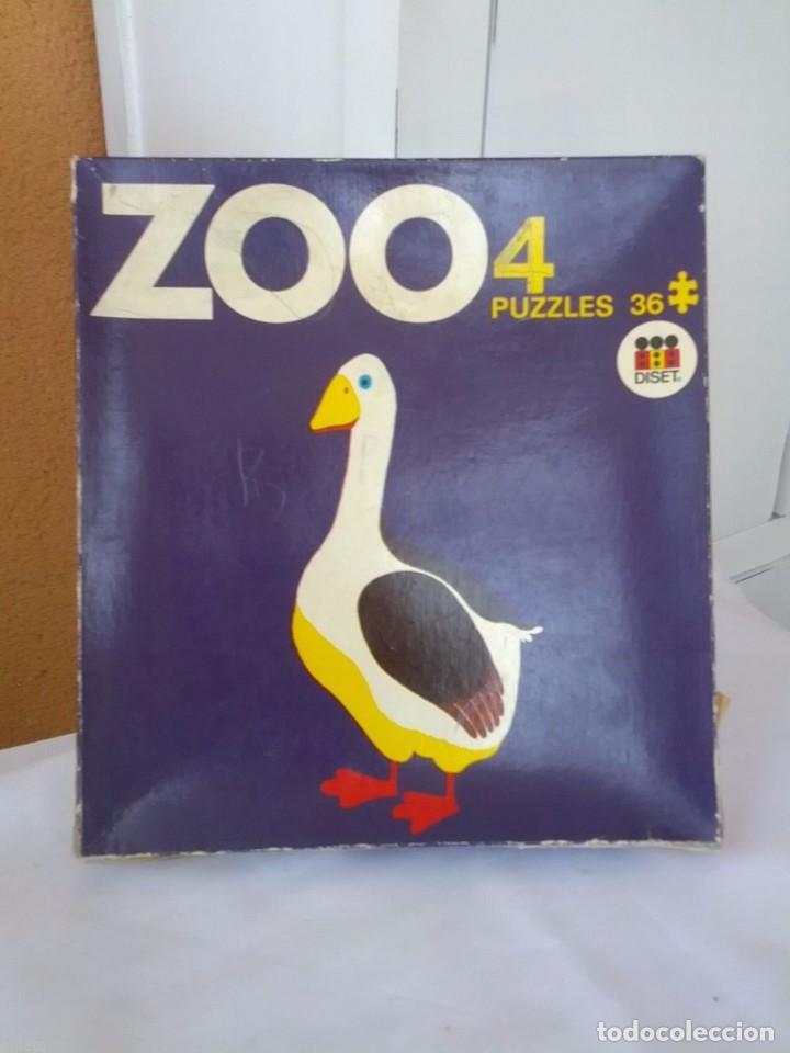 ANTIGUO PUZZLE ZOO AÑOS 70 (Juguetes - Juegos - Puzles)