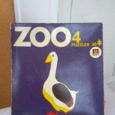 Puzzles: ANTIGUO PUZZLE ZOO AÑOS 70. Lote 82407580