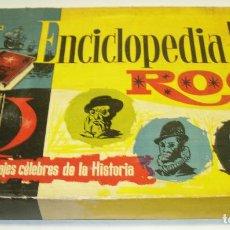 Puzzles: ANTIGUO ROMPECABEZAS ENCICLOPEDIA ROC CON 200 PERSONAJES CÉLEBRES DE LA HISTORIA. Lote 82764100