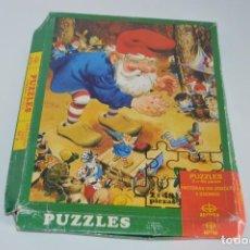 Puzzles: PUZZLES HISTORIAS DEL BOSQUE Y GNOMOS N 3 EDAF DAVID EL GNOMO. Lote 84165304