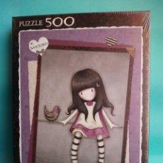 Puzzles: PUZZLE SANTORO LONDON MY SECRET PLACE EDUCA 500 PIEZAS NUEVO SIN ABRIR 16741 PUZLE. Lote 84508776