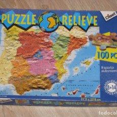 Puzzles: PUZZLE EN RELIEVE. 100 PIEZAS. DISET. USADO, PERO EN BUEN ESTADO.. Lote 85672284