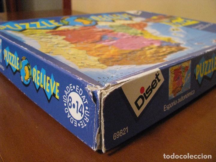 Puzzles: PUZZLE EN RELIEVE. 100 PIEZAS. DISET. USADO, PERO EN BUEN ESTADO. - Foto 3 - 85672284