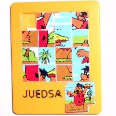 Puzzles: MINI PUZZLE JUEDSA. ANTIGUO AÑOS 80. 80`S. PEDRO PICAPIEDRA. LOS PICAPIEDRA. VINTAGE. . Lote 86581840