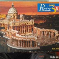 Puzzles: PUZZ3D SAN PIETRO ROMA SAN PEDRO 3D PUZZLE. Lote 86928064