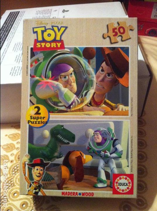 Puzzles: DOBLE PUZZLE MADERA TOY STORY 50 PIEZAS - Foto 1 - 89008428