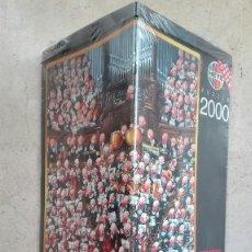 Puzzles: VINTAGE PUZZLE HEYE ORCHESTRA ORQUESTA LOUP 2000 PIEZAS 68X96 PRECINTADO AÑOS 90 PUZLE. Lote 89296364