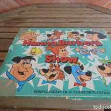 Puzzles: PUZZLE DE 20 DADOS CUBOS PARA MONTAR 6 ROMPECABEZAS LOS PICAPIEDRAS HANNA BARBERA SHOW. Lote 89376392