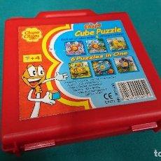 Puzzles: ROMPECABEZAS CHUPA CHUPS, CUBE PUZZLE. Lote 90220632
