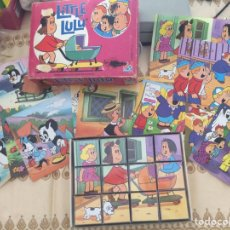 Puzzles: PUZZLE CUBOS LITTLE LULU. Lote 92211664