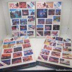 Puzzles: LOTE 4 PUZZLES ERASE UNA VEZ...EL HOMBRE, JUEGOS ODIN , AÑOS 80, COLECCIÓN COMPLETA. Lote 92411895