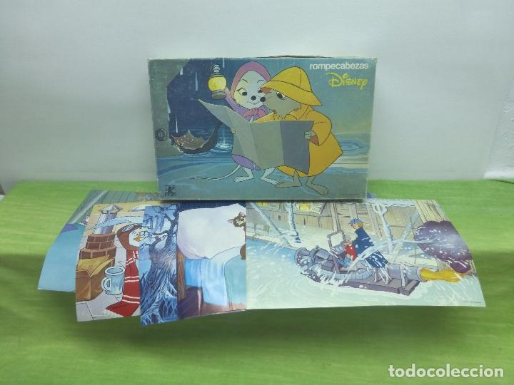 Puzzles: ANTIGUO PUZZLE DE DISNEY-JUGUETES BORRAS-ROMPECABEZAS EN 40 CUBOS CON SEIS LÁMINAS-ORIGINAL AÑOS 60 - Foto 3 - 94679327