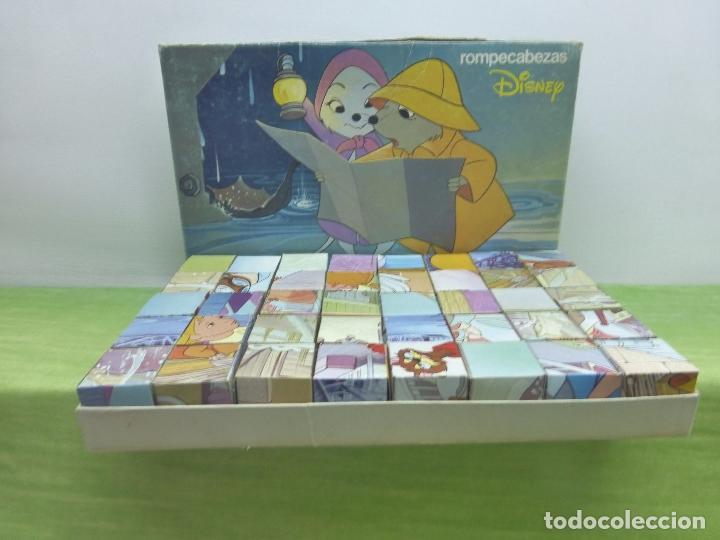 Puzzles: ANTIGUO PUZZLE DE DISNEY-JUGUETES BORRAS-ROMPECABEZAS EN 40 CUBOS CON SEIS LÁMINAS-ORIGINAL AÑOS 60 - Foto 4 - 94679327