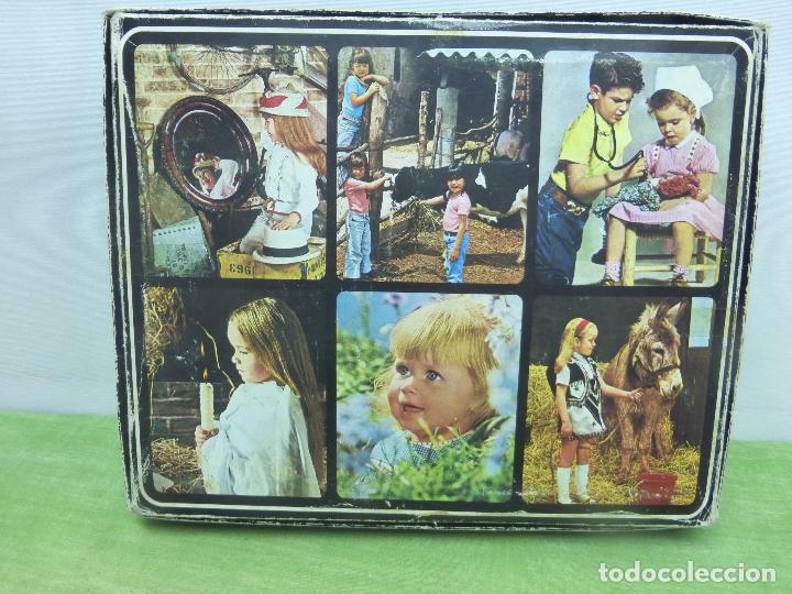 Puzzles: ANTIGUO PUZZLE ROMPECABEZAS VINTAGE DE EDIGRAF 20 CUBOS. COMPLETO. ROSTRO NIÑO-ORIGINAL AÑOS 60-70 - Foto 3 - 94683523