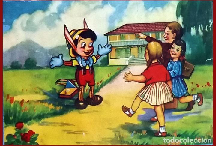 Puzzles: ANTIGUO Y PRECIOSO ROMPECABEZAS DE 20 CUBOS DE CARTON CON PAPEL LITOGRAFIADO - BONITAS ILUSTRACIONES - Foto 5 - 94779359
