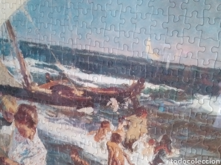 Puzzles: Oportunidad!! Magnífico puzzle enmarcado!! Sorolla 1500 pzs. Educa Art collection. 85,5x60 oferta!! - Foto 3 - 95236260
