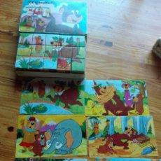 Puzzles: ROMPECABEZAS CUBOS OSO YOGUI. Lote 95946003