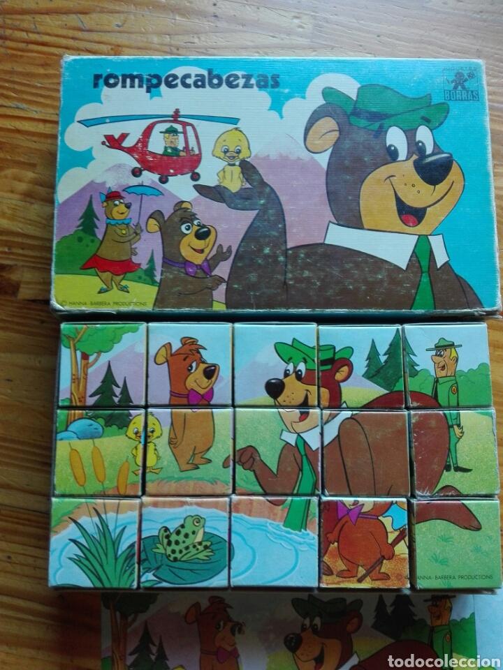 Puzzles: Rompecabezas cubos oso yogui - Foto 2 - 95946003