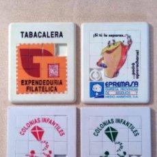 Puzzles: LOTE 4 ROMPECABEZAS - PUZZLE EN PLÁSTICO. TABACALERA (1), EPREMASA (1) Y UNICAJA (2). Lote 95962563