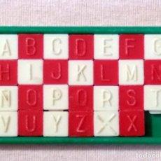 Puzzles: JUEGO ROMPECABEZAS - PUZZLE ABCEDARIO (AÑOS 1960). JUEGO DE HABILIDAD.. Lote 95963047