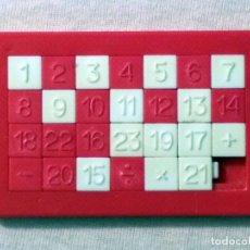 Puzzles: JUEGO ROMPECABEZAS - PUZZLE NÚMEROS (AÑOS 1960). FABRICADO POR JUYBA. JUEGO DE HABILIDAD.. Lote 95963323