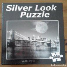 Puzzles: PUZZLE - PUENTE DE BROOKLYN - NUEVA YORK - SILVER LOOK 1000 PIEZAS - 65 X 47,5 CM. Lote 95966123