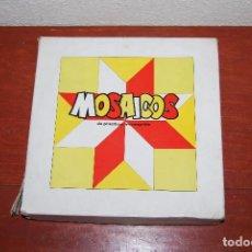 Puzzles: MOSAICOS DE PLÁSTICO IRROMPIBLE - ROMPECABEZAS - PUZZLE - JUEGO - BALDOSA HIDRÁULICA - AÑOS 50-60. Lote 95985919