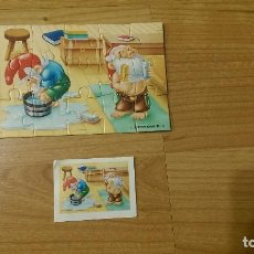 Puzzles: MINI PUZZLE «ENANITOS». Lote 96023851