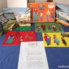 Puzzles: PUZZLE ANIMADO MARCO COMPLETO Y NUEVO!!!! 3 PUZZLES CON PERSONAJES. Lote 96371898